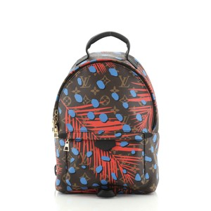 Louis Vuitton Limited Edition Canvas Backpack