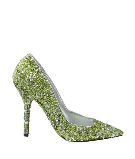 Dolce & Gabbana Heels Sequin Green Pumps Image 2