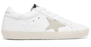 Golden Goose Deluxe Brand Sneakers Leather Star White Athletic