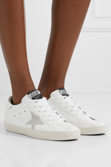 Golden Goose Deluxe Brand Sneakers Leather Star White Athletic Image 1
