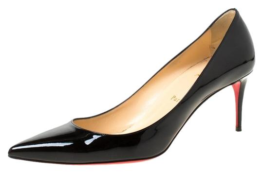 Preload https://img-static.tradesy.com/item/26272976/christian-louboutin-black-patent-leather-decollete-554-pointed-pumps-size-eu-405-approx-us-105-regul-0-1-540-540.jpg