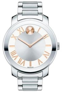 Movado Bold Rose Gold Stainless Steel 3600196