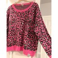 PINK Victoria Secret Leopard Sweater PINK Victoria Secret Leopard Sweater Image 2
