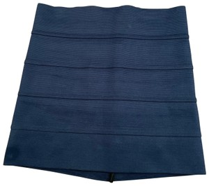 Pleasure Doing Business Night Out Mini Skirt Navy
