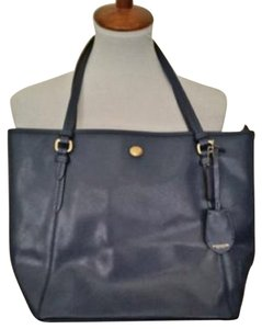 Coach Peyton F27349 Leather Tote in Blue