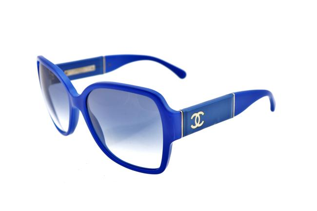 Chanel Blue Ch 5230q C.1342/9s 60mm Oversized Squared Italy Sunglasses Chanel Blue Ch 5230q C.1342/9s 60mm Oversized Squared Italy Sunglasses Image 1