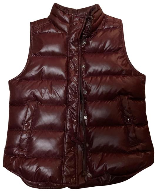 Item - Burgundy Puffy Vest Size 4 (S)