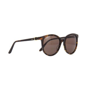 Cartier Brown Lens CT0003SA 002 Women's Round Sunglasses