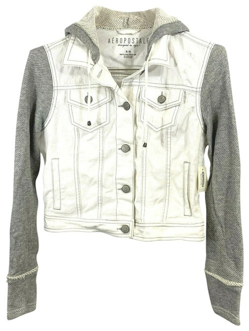 Item - White/Gray 2456 Jacket Size 8 (M)