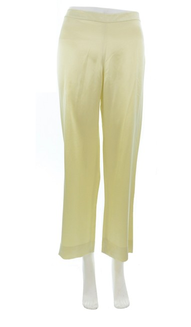 Item - Yellow Lime Green Silk Pants Size 4 (S, 27)