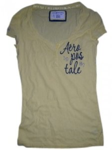 Aéropostale T Shirt Yellow