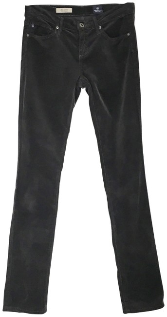 Item - Gray The Stevie Slim Straight Corduroy Pants Size 0 (XS, 25)