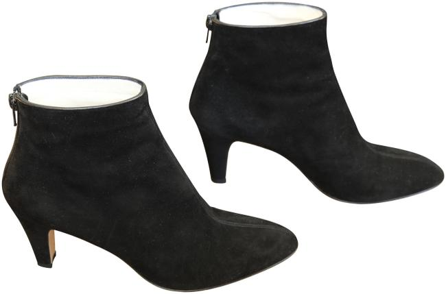 Brian Atwood Black Suede Boots/Booties Size EU 38.5 (Approx. US 8.5) Regular (M, B) Brian Atwood Black Suede Boots/Booties Size EU 38.5 (Approx. US 8.5) Regular (M, B) Image 1