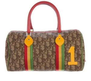 Dior Satchel in Brown and tan
