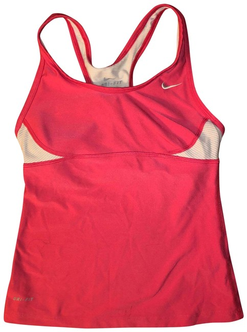 Item - Pink/White Activewear Top Size 4 (S)