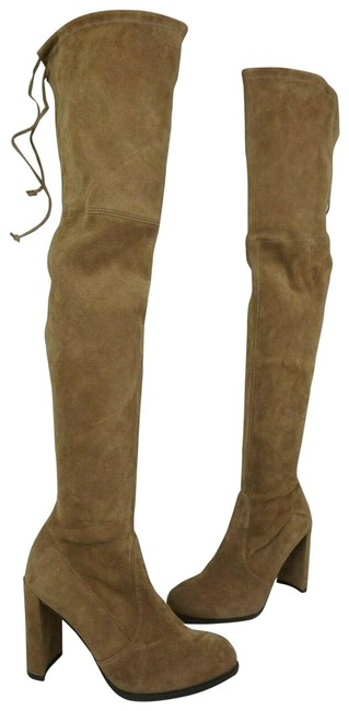 Item - Brown Hiline Nutmeg Suede Over The Knee Boots/Booties Size US 8.5 Regular (M, B)