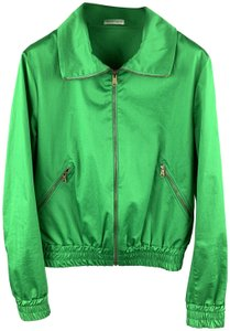 tomas maier Full Zip Zipper Italy Green Jacket