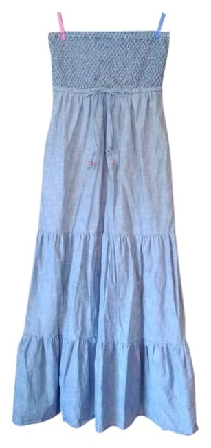 Denim Maxi Dress by Daughters of the Liberation