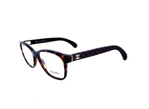 Chanel Chanel CH3290-Q c.714 Quilted Leather Eyeglasses RX Frames 52mm Italy