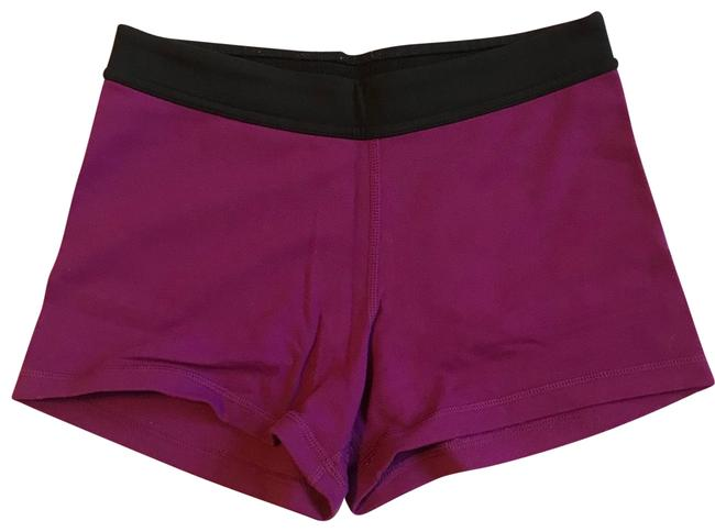 Item - Purple and Black Boogie Shorts Size 4 (S, 27)