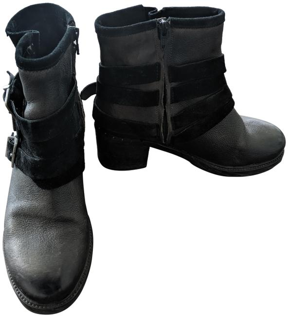 Item - Black Hardy Motorcycle (Fit Like 8.5/9) Boots/Booties Size EU 38 (Approx. US 8) Regular (M, B)