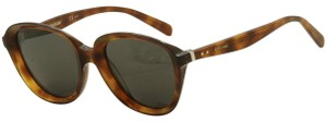 Celine Celine Women's CL41448S CL/41448/S 807/9O Havana Oval Sunglasses 51mm
