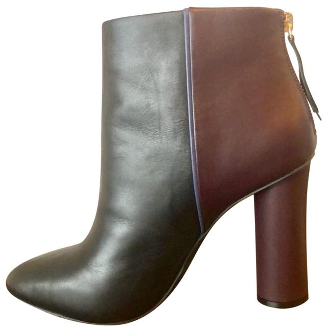 Item - Black and Berry Two Toned New. Boots/Booties Size US 10 Regular (M, B)
