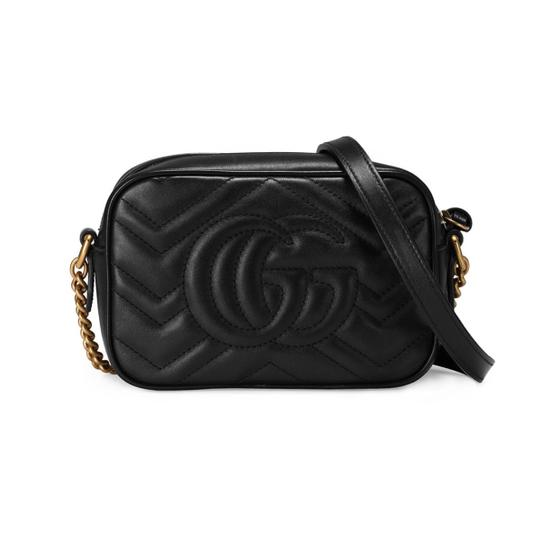 Gucci Marmont Mini Marmont Marmont Cross Body Bag Image 3