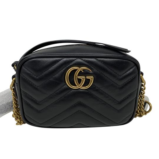 Gucci Marmont Mini Marmont Marmont Cross Body Bag Image 5