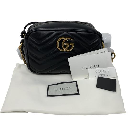 Gucci Marmont Mini Marmont Marmont Cross Body Bag Image 9