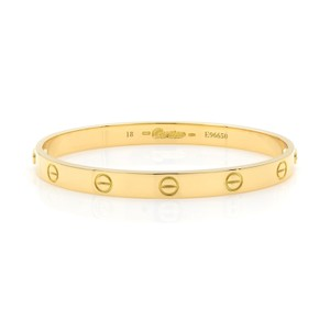 Cartier Love Bangle Size 18 Old Screw System