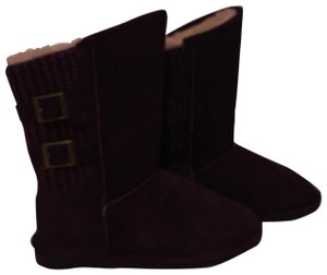 Bearpaw Purple Boots