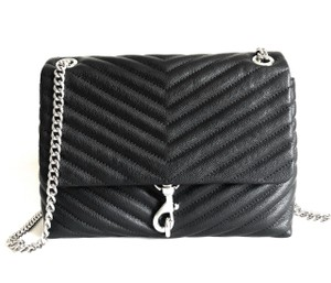Rebecca Minkoff Quilted Chain Edie Convertible Shoulder Bag