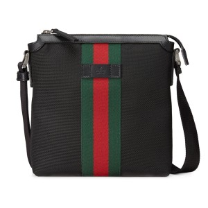 Gucci Supreme Bags Black Messenger Bag