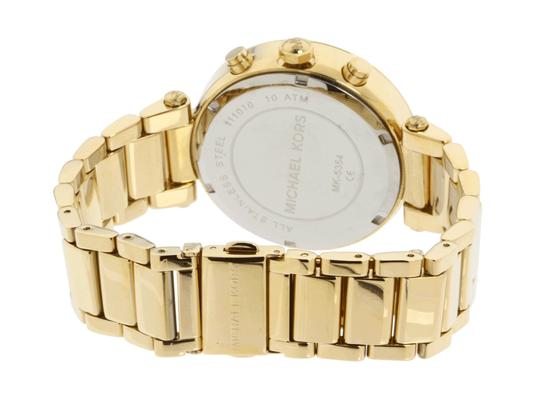 Michael Kors Parker Stainless Steel Pave Crystal Chronograph MK5354 Watch Image 4