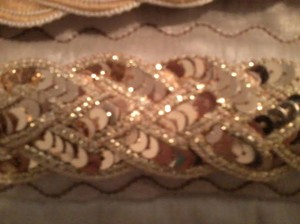 BELT - Gold Sequins