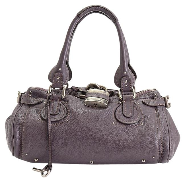 Item - Paddington Rdc10463- 2008 Rosewood Mauve Leather Tote