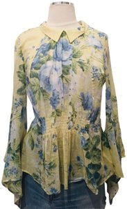 alice McCALL Flowers New Never Used Top Multicolor