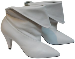 Givenchy Italian Leather Icon White Boots