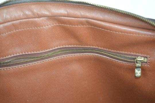 Louis Vuitton Lv Porte Voyage Speedy Neverfull Tote in Brown Image 11