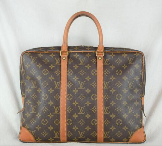 Louis Vuitton Lv Porte Voyage Speedy Neverfull Tote in Brown Image 3