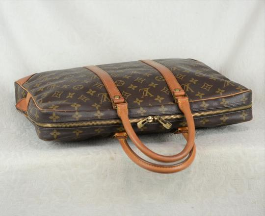 Louis Vuitton Lv Porte Voyage Speedy Neverfull Tote in Brown Image 9