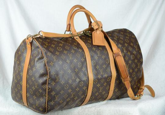 Louis Vuitton Lv Keepall Bandouliere Speedy Neverfull Cross Body Bag Image 3