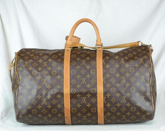 Louis Vuitton Lv Keepall Bandouliere Speedy Neverfull Cross Body Bag Image 4