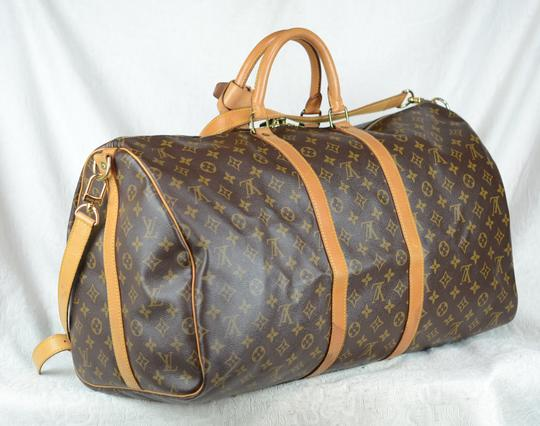 Louis Vuitton Lv Keepall Bandouliere Speedy Neverfull Cross Body Bag Image 5