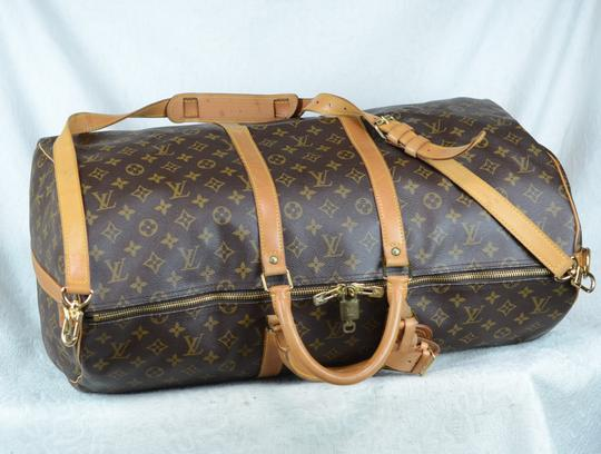 Louis Vuitton Lv Keepall Bandouliere Speedy Neverfull Cross Body Bag Image 7