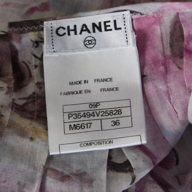 Chanel Cotton Detail Top Multicolor Image 4