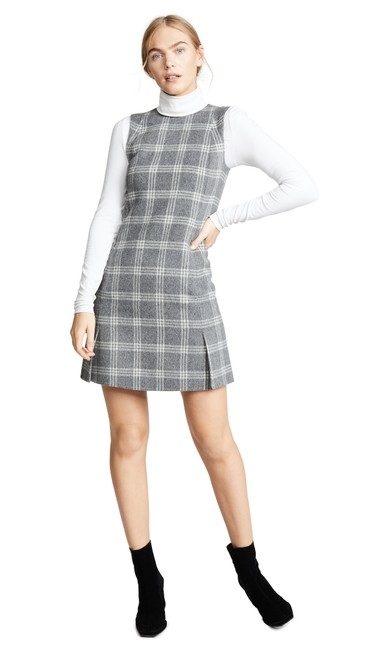 Preload https://img-static.tradesy.com/item/26283488/theory-charcoal-melange-vent-front-shift-mid-length-short-casual-dress-size-4-s-0-0-650-650.jpg