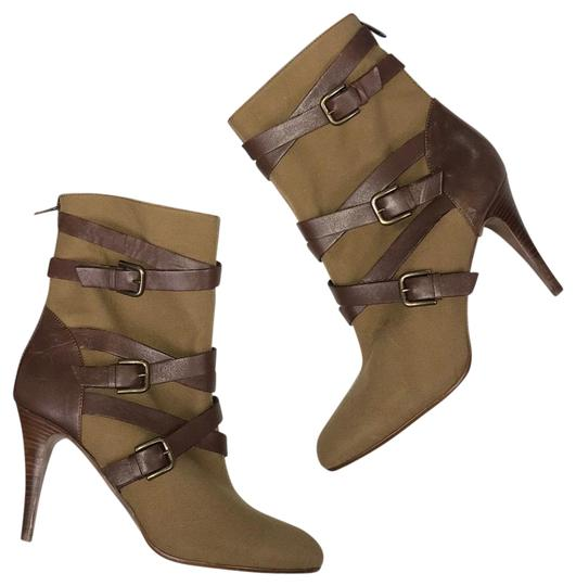 J.Crew Green/Brown Boots Image 0