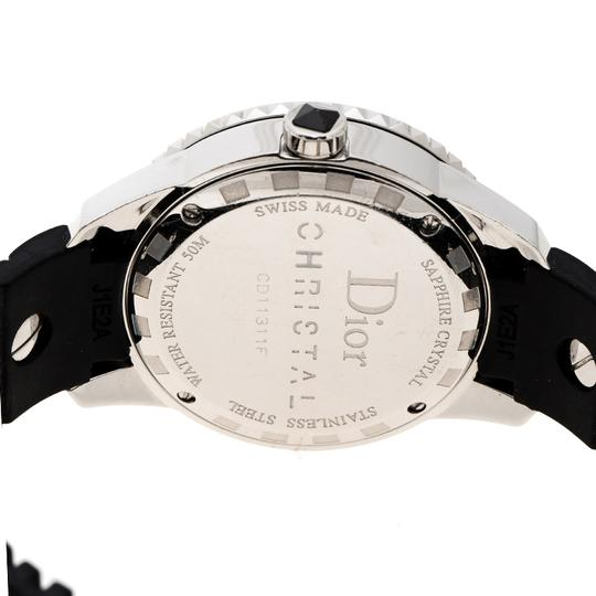 Dior Dior Black Stainless Steel Christal Women's Wristwatch 33MM Image 4